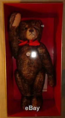 Steiff 26 1926 Happy Anniversary Teddy Bear 407239 Replica Mohair GROWLER New