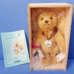 Steiff Bose Bär Limitierte Auflage Teddy Mohair Blond 28 CM Bear 990359
