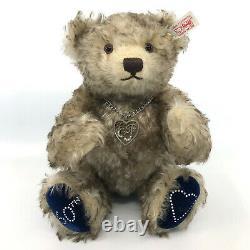 Steiff Buckingham Teddy Bear Diamond Royal 60th Anniv Mohair 2007 LE Cert Box