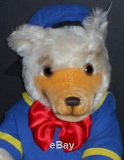 Steiff Donald Duck Bear Walt Disney Doll & Teddy Convention Nmib