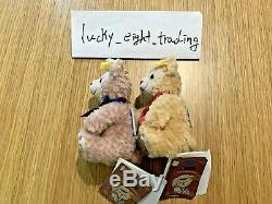 Steiff Duffy and Shelly May 10th Anniversary Tokyo Disney Sea Teddy Bear Mohair