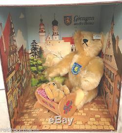 Steiff Giengen Teddy Bear Set NEW Jointed Mohair #0162/00 LE #9305/16000