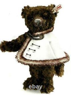 Steiff Graf Andrassy Teddy Bear Ean 034770 Dark Brown Mohair Bear-majestic
