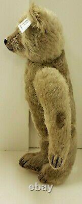 Steiff Mohair Teddybear 1908 Reproduction Brown Growler