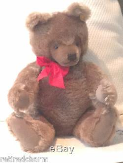 Steiff Original Teddy Bear 20 0202/51 Jointed Carmel Vintage 1968-90 Mohar