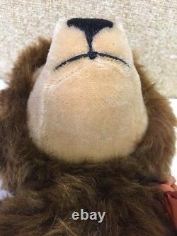 Steiff Original Vintage Mohair Teddy Bear 21 EAN 011153 Ear Button 2 Tags VG