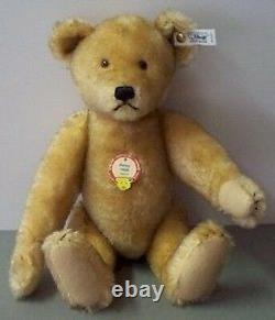 Steiff Petsy 1928 Teddy bear mohair, brown tipped EAN 407451