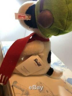 Steiff Snoopy Peanuts Flying Doll Ace 1500 limited Teddy Bear Mohair Plush