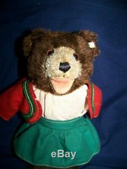 Steiff Teddlii Bear