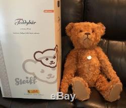 Steiff Teddy Bear Red/Brown 23 248/2006 Mohair Growler 037054 Germany 2006