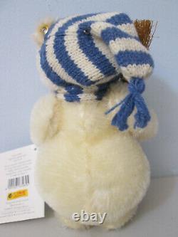 Steiff Teddy Bear Snowman EAN 670695 8 Mohair