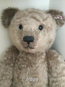 Steiff USA President Theodor 1920 Mohair Teddy Bear The Largest @ 30