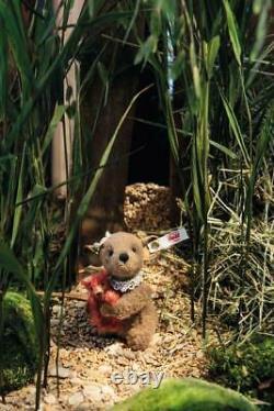 Steiff Xenia Mouse with miniature Teddy Bear 11cm Limited Edition Mohair 006142