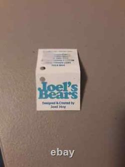 Stunning Oberon Mohair Bear Designed & Signed by Joel Hoy Joel's Bears OOAK