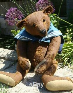 Stunning Ooak Large 26 Dany Baeren / Daniela Melse Old Style Sailor Teddy Bear