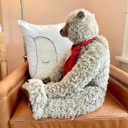 TWO Mohair Artist Teddy Bears by Pat Murphy Bears, 32-inch, 24-inch, OOAK