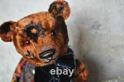 Teddy Bär Künstlerteddy Mohairteddy 100%Handmade