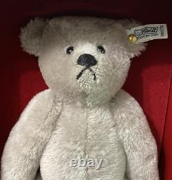 Vintage 1983 Steiff 1902 Replica Mohair Teddy Bear Limited Edition Original Box
