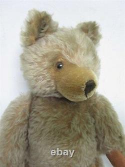 Vintage German Steiff Blonde Mohair Teddy Bear 14 1/2