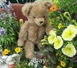 Vintage Mohair Teddy Bear Growler Claws 18 German Steiff Schuco Hermann Cute