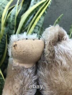 Vintage Schuco 17 Mohair Yes / No Teddy Bear