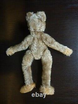 Vintage Steiff Rare Zotty ZOLAC TEDDY BEAR 1960s Mohair Long Limbs