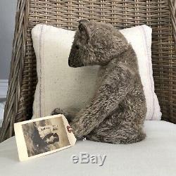 Wonderful 16 Antique Style Mohair Teddy Bear by Terry John Woods